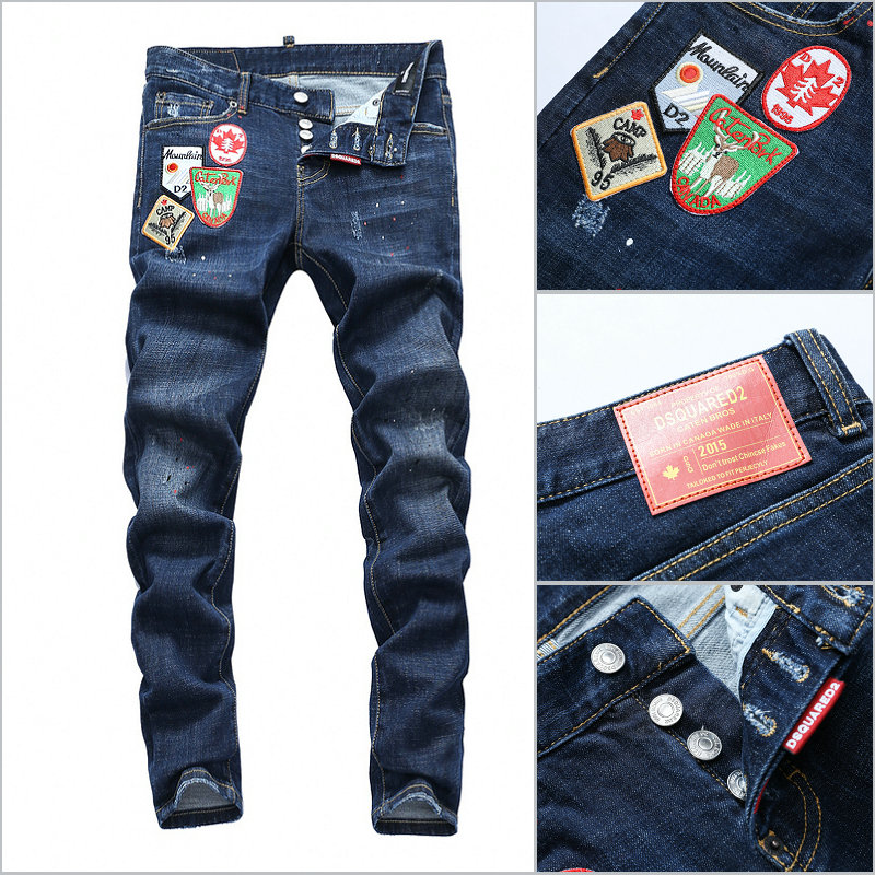 Panel Jeans Long Slim Dsquared2 Camp kiPZXu