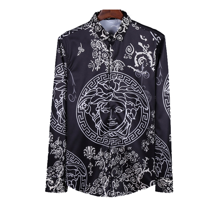69ea2444c57a chemises chemise vs Versace hommes style versace classic cool xEE41Yrqw