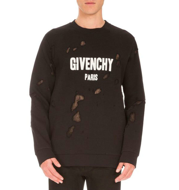 sweatshirt homme givenchy