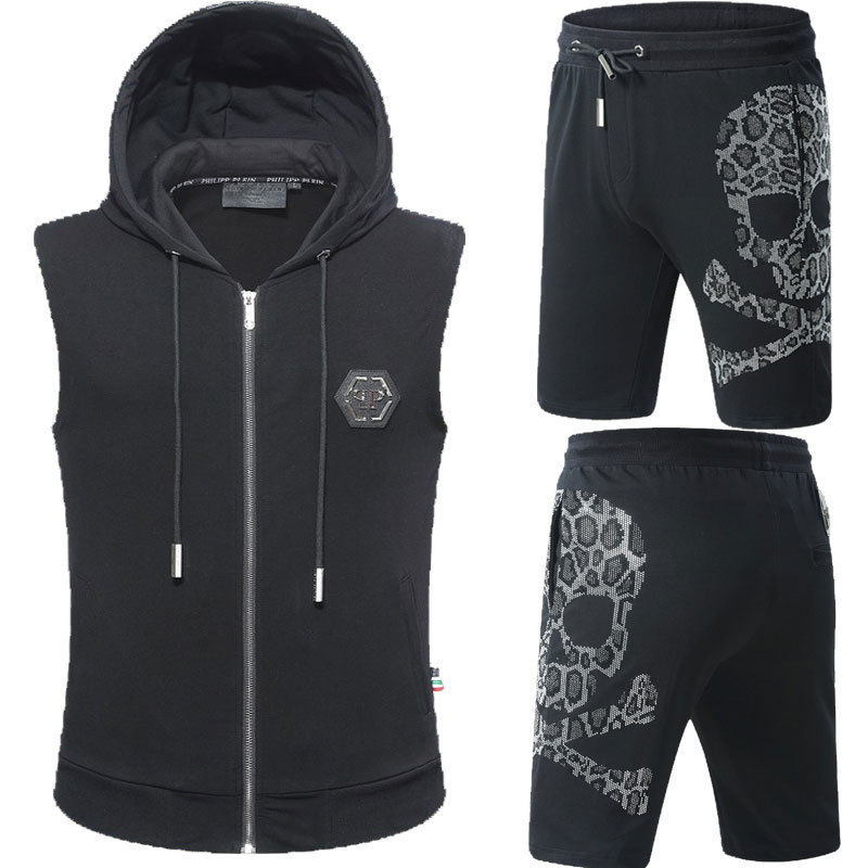 076b119dad philipp plein ensemble jogging manche courte survetement hoodie