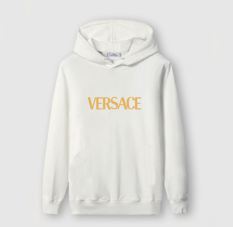 100% genuine well known new release sweat a capuche versace pullover blanc