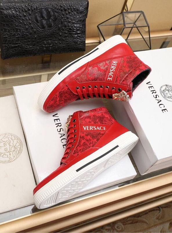 a07f544b2950 versace chaussure homme pas cher 3d printed red
