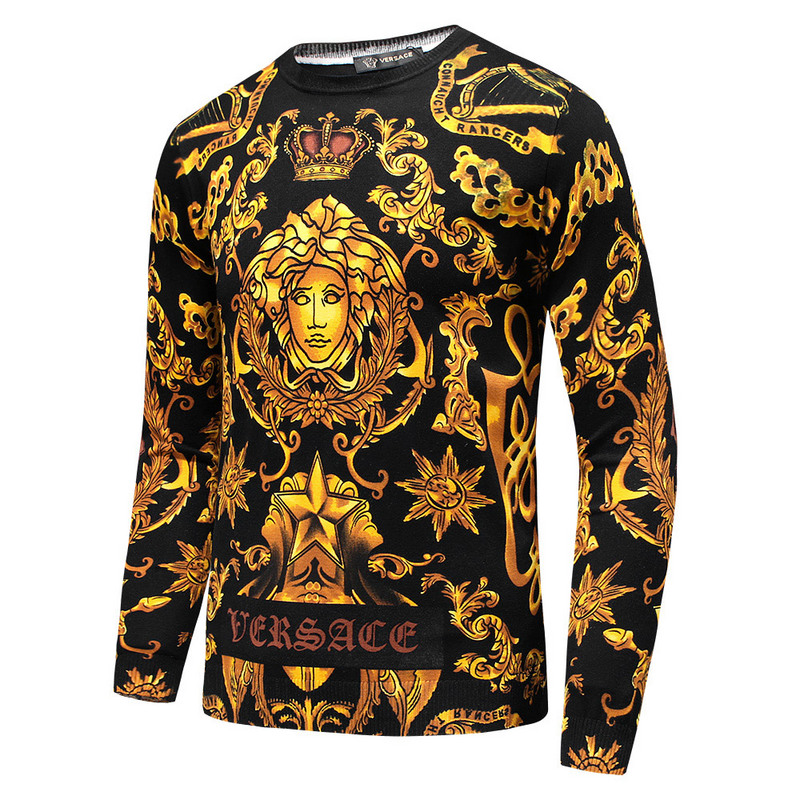 versace pull pas cher crown flower 5f8907097eb